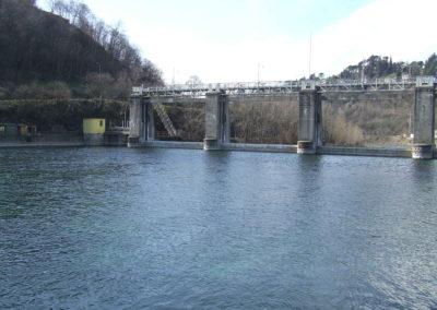 traversa fluviale sarnico diga